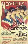 Vintage events poster - Novelty, Cine concert des allies